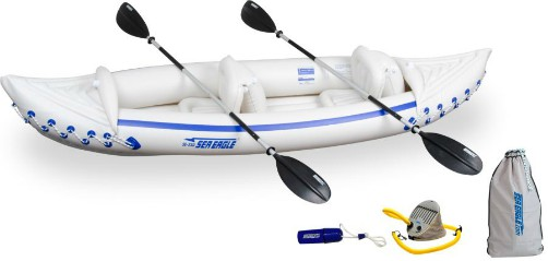 Inflatable Sport Kayak Deluxe Package