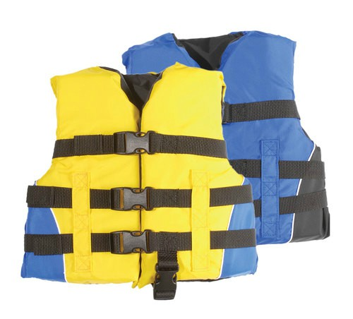 MW Watersports MW Adult 4-Buckle Life Jacket Ski Vest d