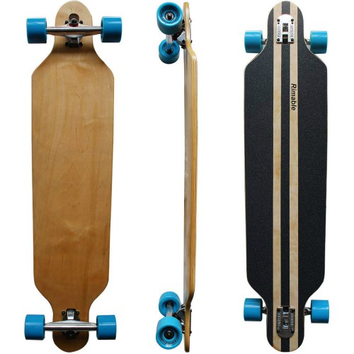 RIMABLE Drop-Through Longboard 4