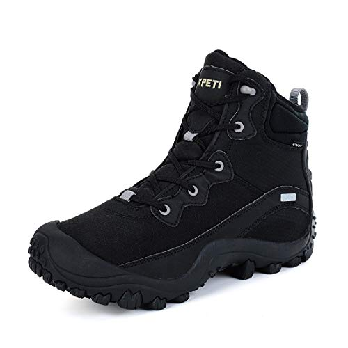 XPETI Men's Waterproof Mid Hiking Trail Outdoor Boot