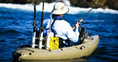 kayak fishing gear