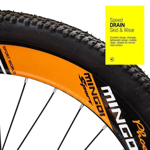 Hardtail Mountain Bike Bicycle tyre