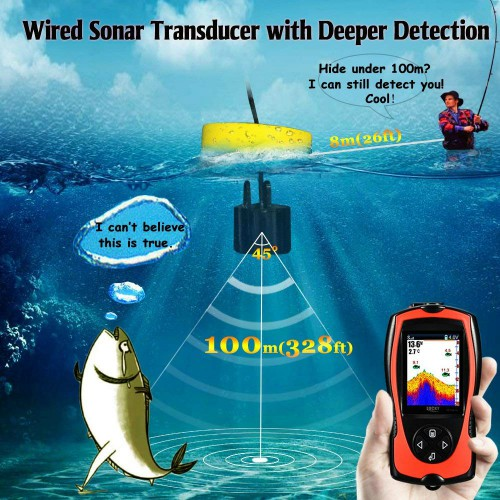 Lucky Portable Fish Finder 34