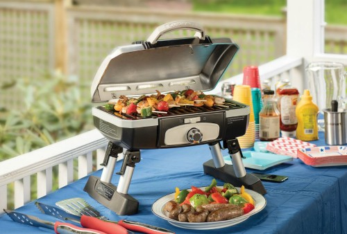 Cuisinart CGG-180TS Petit Gourmet Portable Tabletop Gas Grill