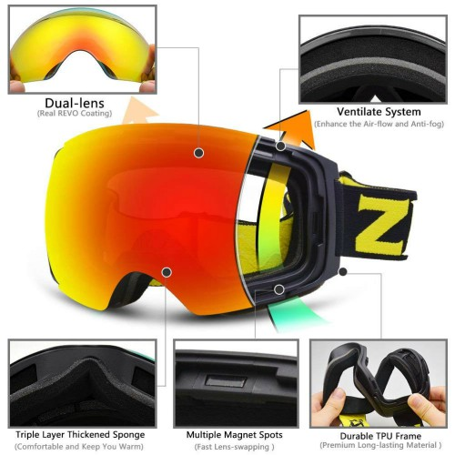 26d55e7aebc0 The 6 Best Snowboard Goggles - Outdoor Best Life
