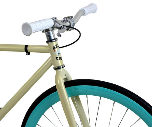 Golden Cycles Single Speed Fixed Gear Bike with Front & Rear Brakes 2