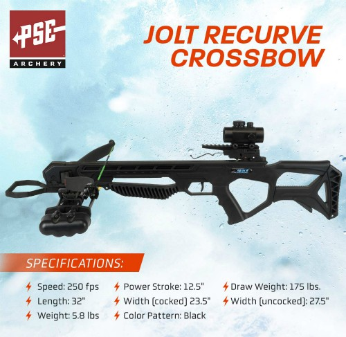 PSE Jolt Crossbow Package 3