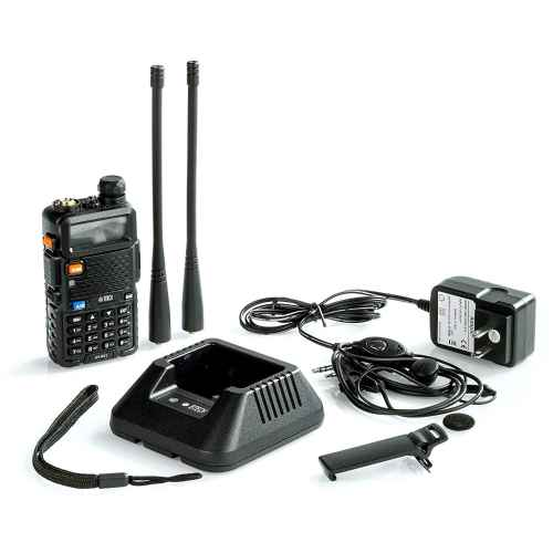BTECH UV-5X3 5 Watt Tri-Band Radio 2