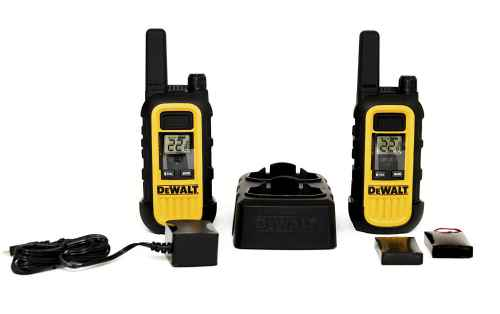 DeWALT DXFRS300 Heavy Duty Business Walkie-Talkies