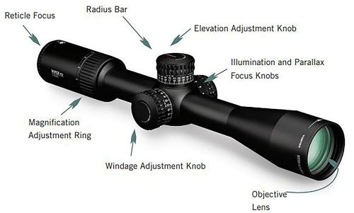 Vortex Optics Viper PST Gen II First Focal Plane Riflescopes 2