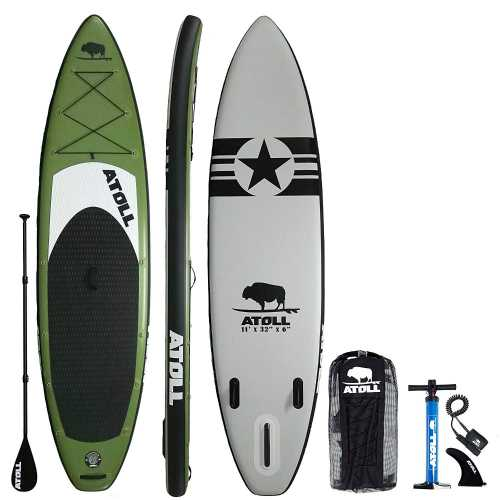 Atoll Foot Inflatable Stand Up Paddle Board