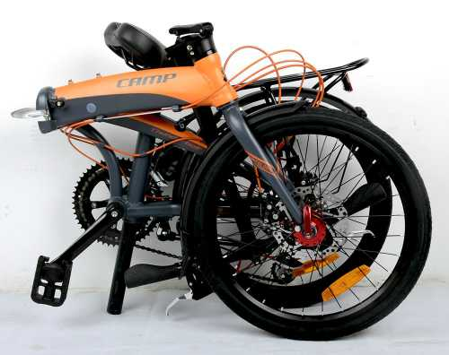 Camp Adult Folding Bike for Men Women 2