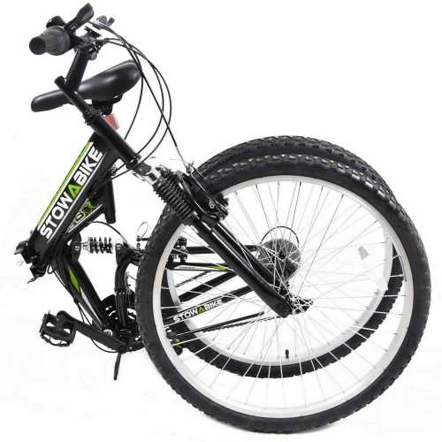 Folding Dual Suspension 18 Speed Shimano Gears Mountain Bike 2
