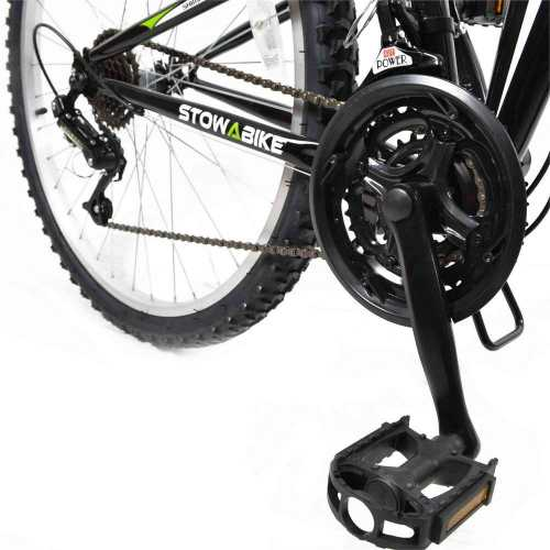 Folding Dual Suspension 18 Speed Shimano Gears Mountain Bike 3