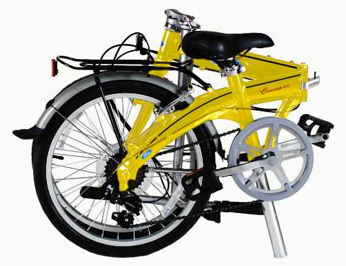Ford by Dahon Convertible 7 Speed Folding Bicycle 2