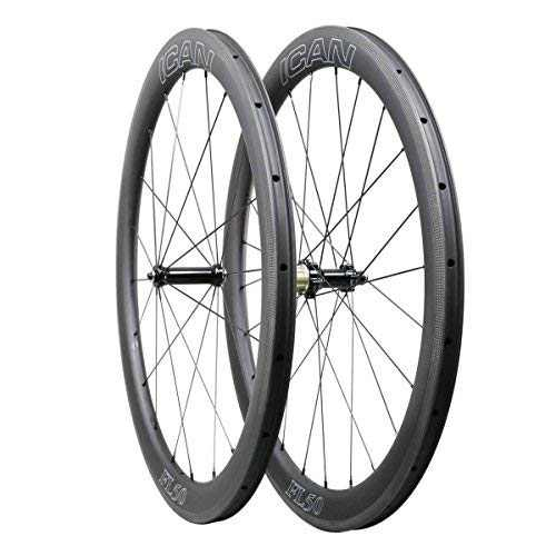 ICAN FL50 Carbon Road Bicycle Wheelset