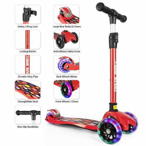 Kick Scooter for Kids 2