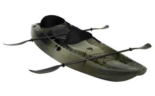 Lifetime 10 Foot, Two Person Tandem Fishing Kayak