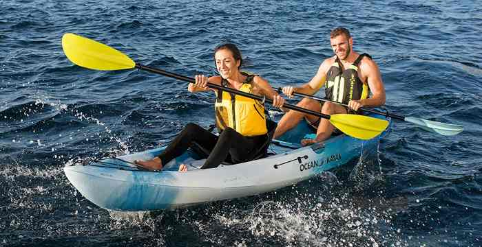 Image result for Tandem Kayaks for a Couple's Day