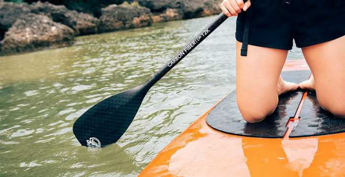 Protable Palm Grip Canoe Paddle T Handle Kayak Accessory for SUP Paddle Boat