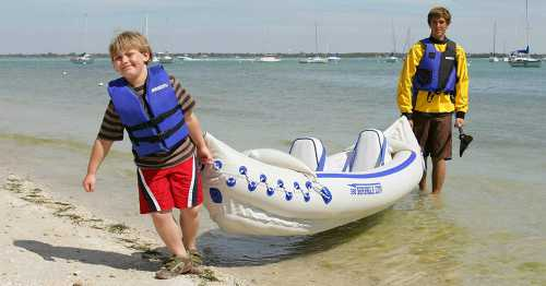 Sea Eagle Deluxe Inflatable Kayak Seat 2