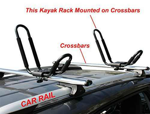TMS J-Bar Rack HD Kayak Carrier 2