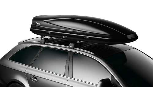 Thule Force Cargo Box, Black 2