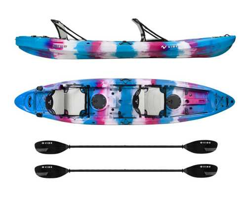 Vibe Kayaks Yellowfin Tandem Sit On Top Kayak