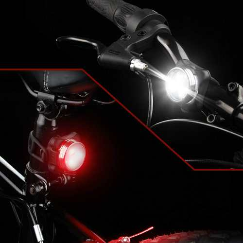 Ascher USB Rechargeable Bike Light