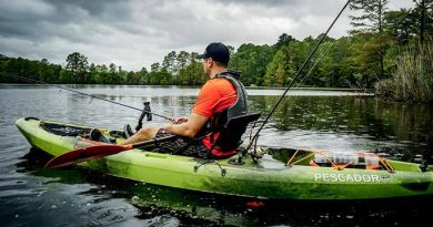 Perception Pescador Pro Sit On Top Kayak for Fishing