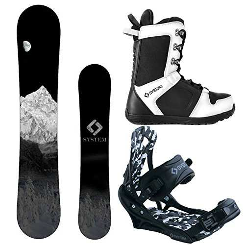 System MTN and APX Complete Men Snowboard