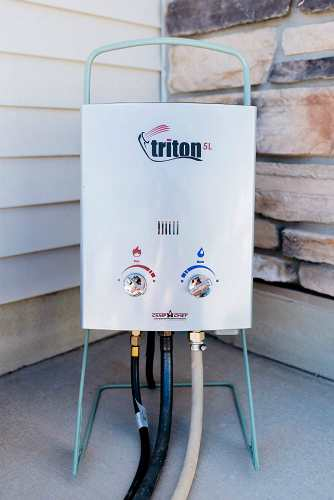 Camp Chef HWD5 Triton Water Heater 2