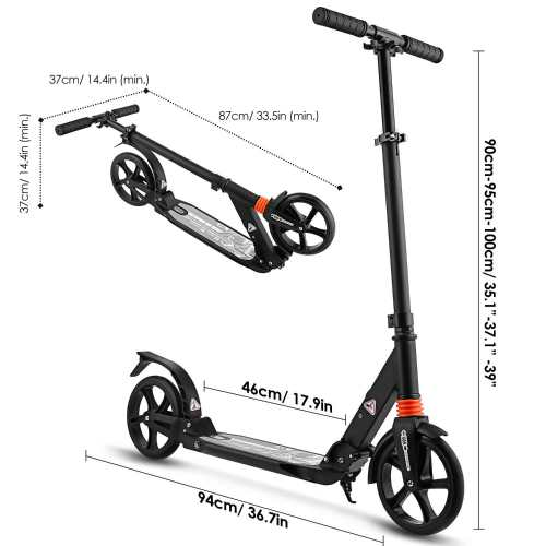 Hikole Scooter for Adult Teens