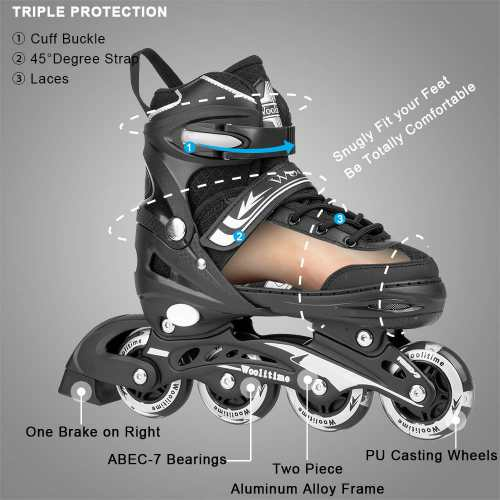Woolitime Sports Adjustable Inline Skates
