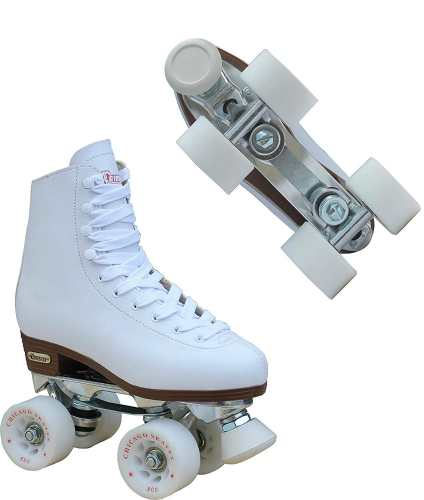 Chicago Women's Leather Lined Rink Roller Skate