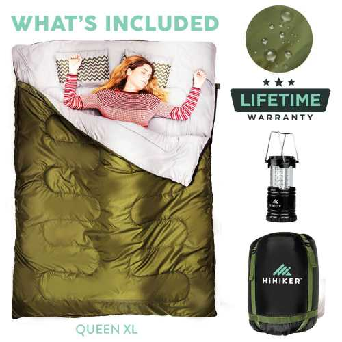 HiHiker Double Sleeping Bag