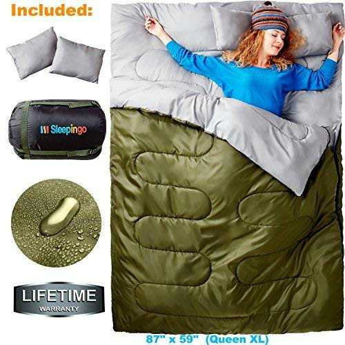Speepinggo Double sleeping bag