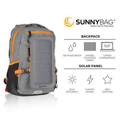 Sunnybag Explorer+ Solar Backpack