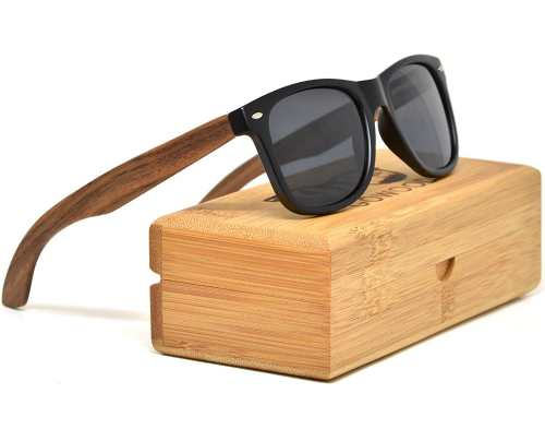 Walnut Wood Sunglasses For Men & Women