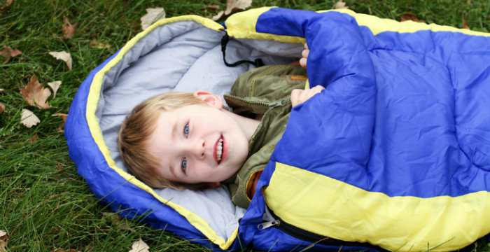 Kids sleeping-bag