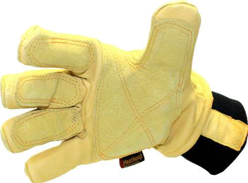 KINCO 901 Men's Pigskin Leather Ski Glove 2