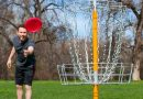 Sports Disc Golf Basket