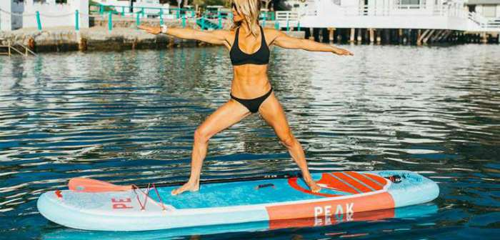 Yoga Fitness Inflatable Stand Up Paddle Board