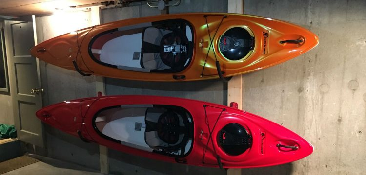 Kayak Storage Rack
